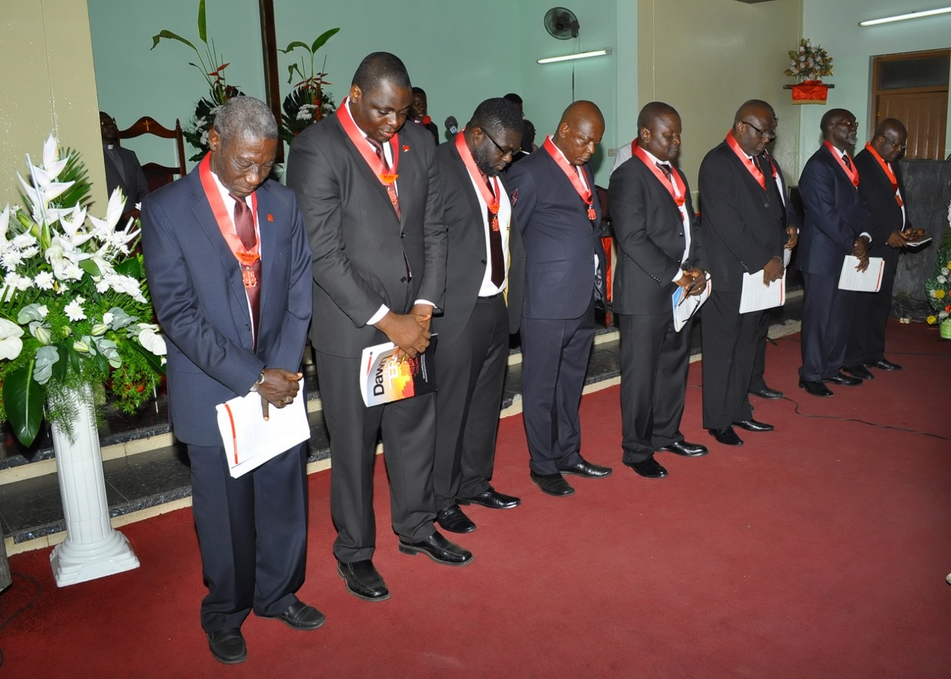 Induction of MOBA National Executive Members